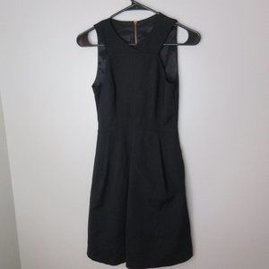 Cue Australia black dress sz 6